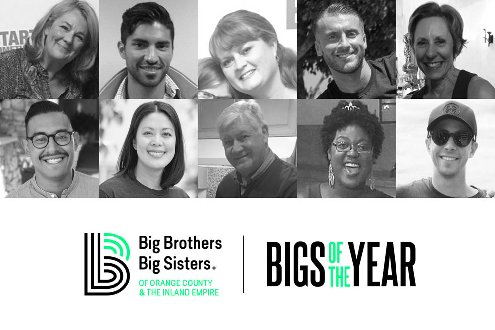 Big Brothers Big Sisters 2020 Big of the Year Finalists