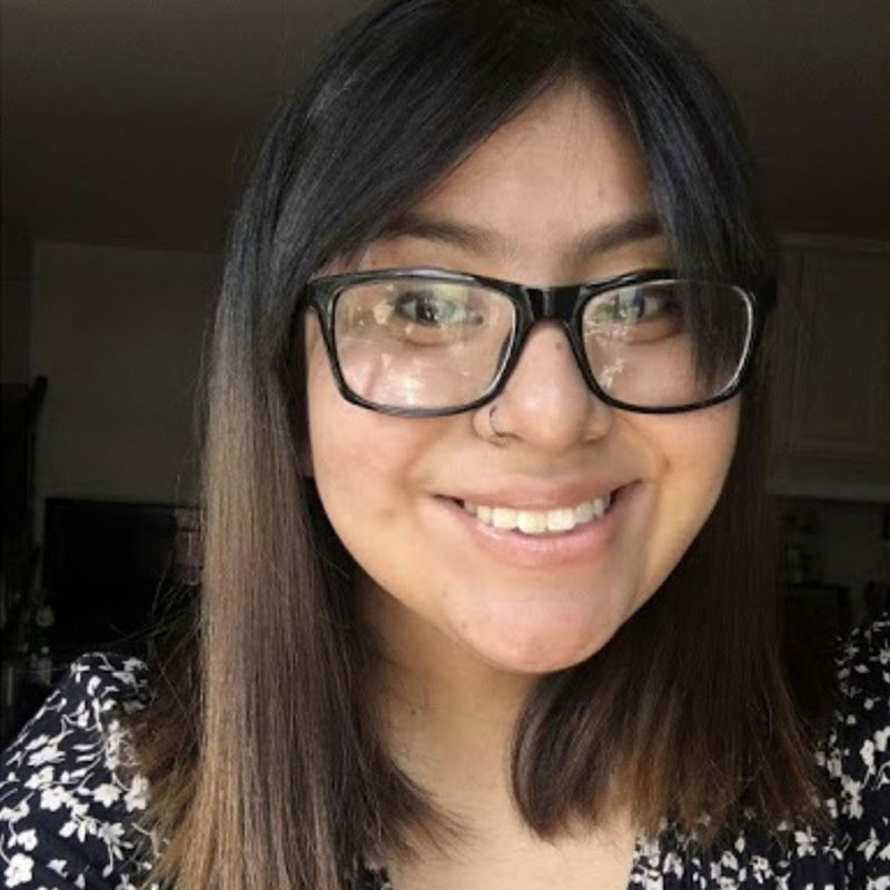 High School Volunteer Esmeralda