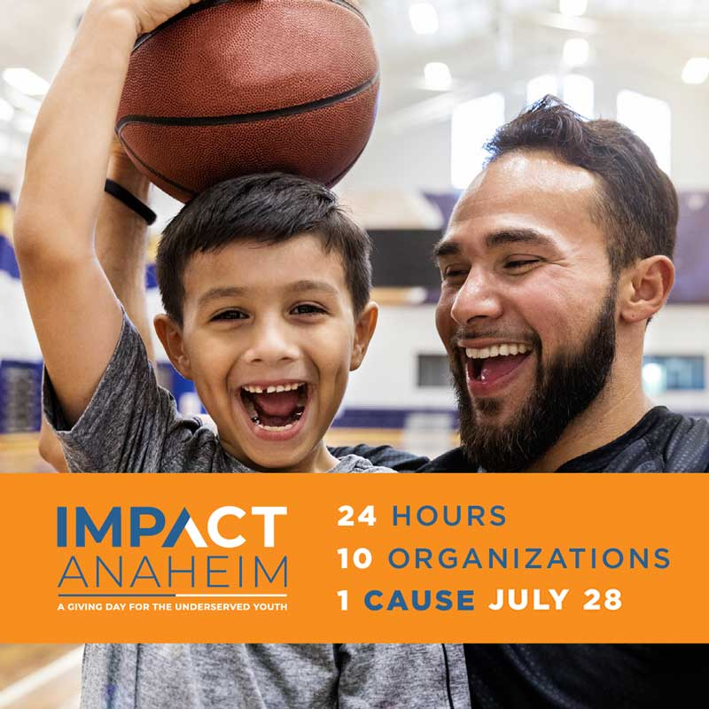 Support local youth on ImpACT Anaheim Giving Day